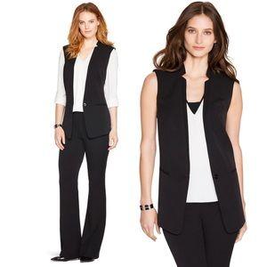 WHITE HOUSE l BLACK MARKET 'Seasonless Vest' Black